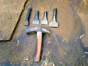 Traditional delver tools