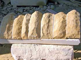 capstones for dry stone walls