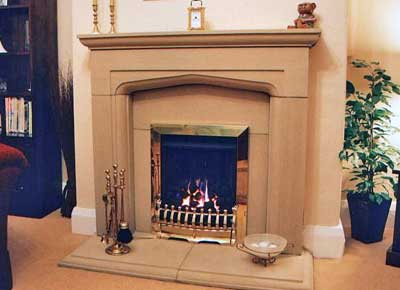 Stone Fireplaces And Stone Mantels Made From Genuine Yorkstone