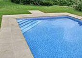 Swimming pool edging